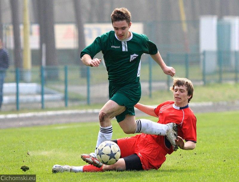 Juniorzy starsi: Ina Goleniów - Orzeł Wałcz