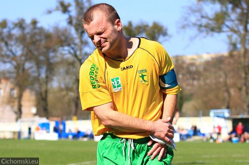 Marek Sajewicz ucierpiał w jednym ze starć
